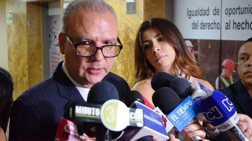 Jaime Jaramillo, Director Administrativo del Palacio de Justicia.