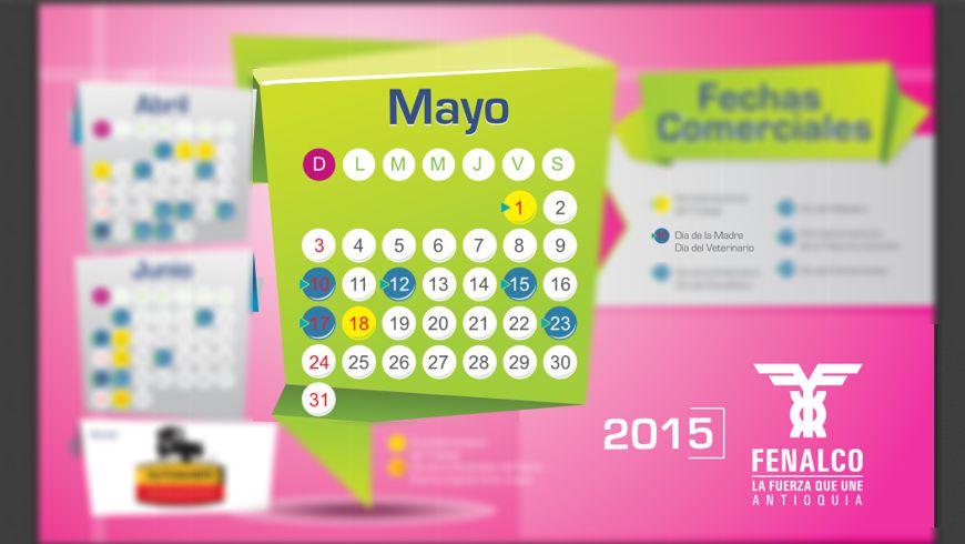 Foto: Calendario oficial de Fenalco