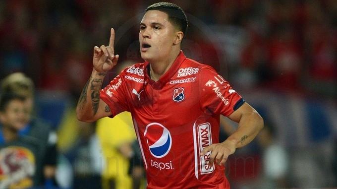 Juan Fernando Quintero anota de penal en la victoria de Independiente Medellín sobre Once Caldas. Fecha 4 Liga Águila