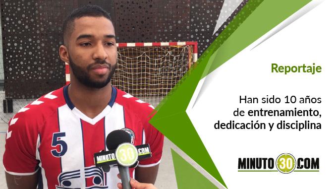 Santiago Mosquera - Jugador Balonmano