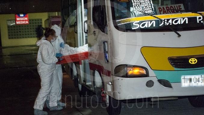 homicidio bus 8