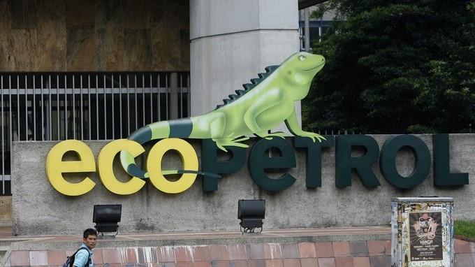 logo de la empresa ecopetrol en una de las sedes de la compania Copiar