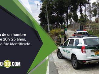 Muerto en San Cristóbal.