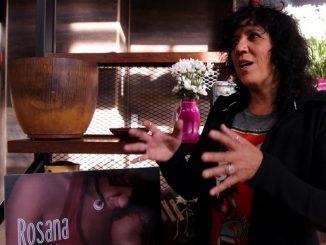 Fotografía de la cantante española Rosana durante una entrevista con Efe en Bogotá (Colombia). EFE
