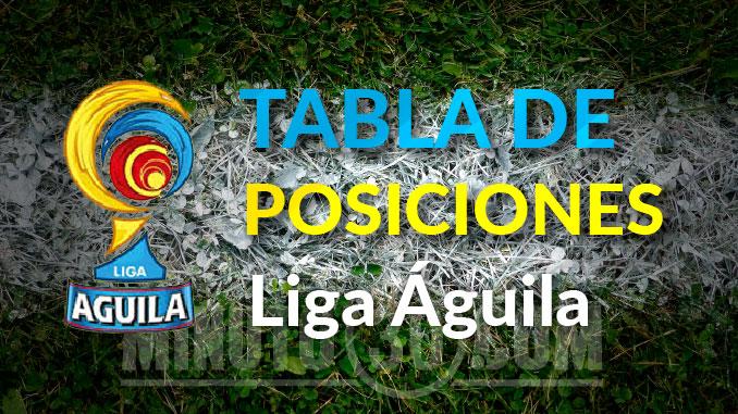 tabla posiciones liga