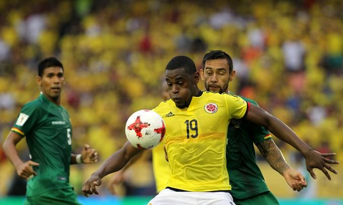 Colombia triunfo Bolivia 2