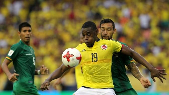 Colombia triunfo Bolivia 21