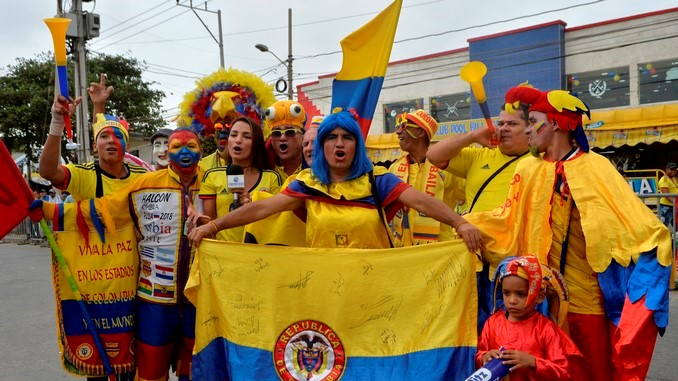Hinchas Seleccion Colombia 3