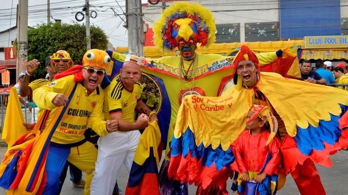 Hinchas Seleccion Colombia 4