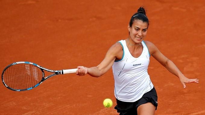 La tenista paraguaya Verónica Cepede