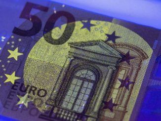 Detalle de un billete de 50 euros. EFE/Archivo