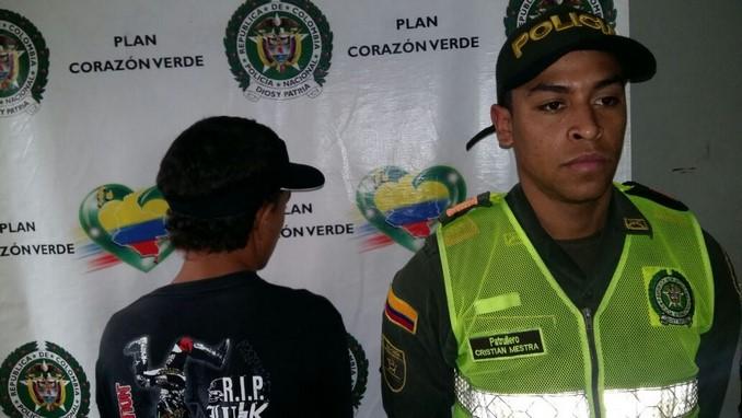 Expendedores capturados en San Javier.