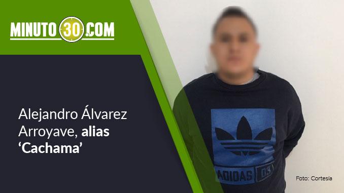 Alejandro Álvarez Arroyave, alias 'Cachama'