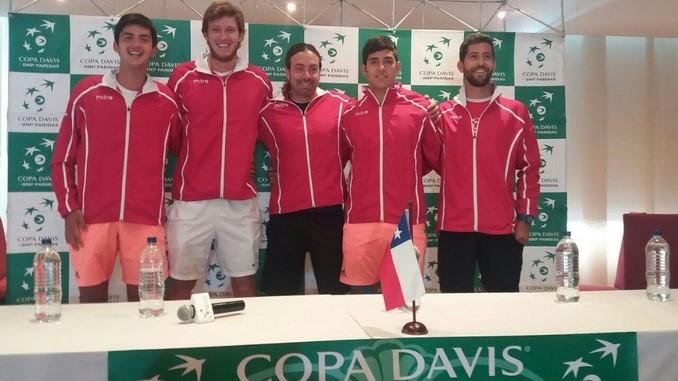 Chile Copa Davis Copiar