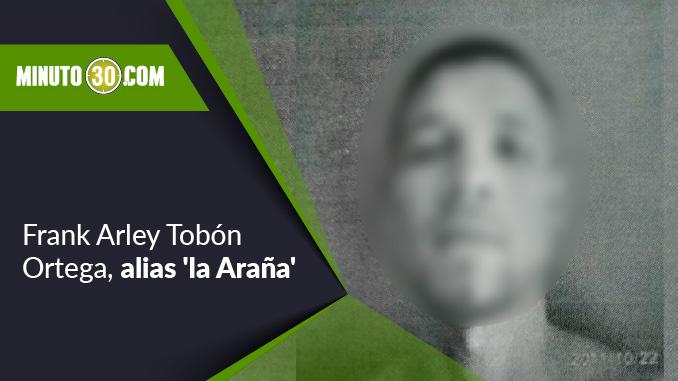 Frank Arley Tobón Ortega, alias la Araña