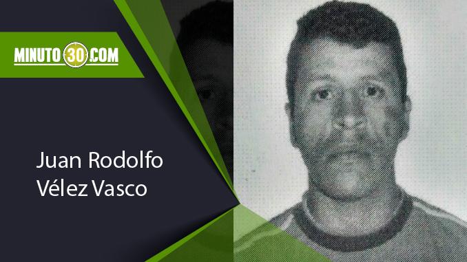 Juan Rodolfo Vélez Vasco