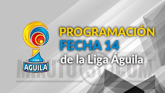 Programacion fecha14 Liga 21