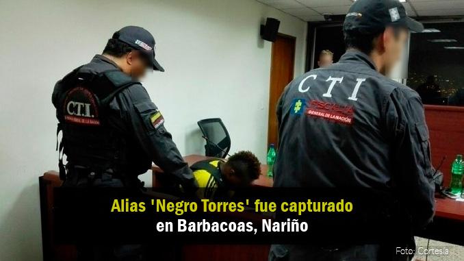 Audiencia de alias 'Negro Torres'.