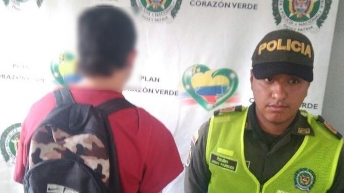 Capturado con celular robado en San Javier.