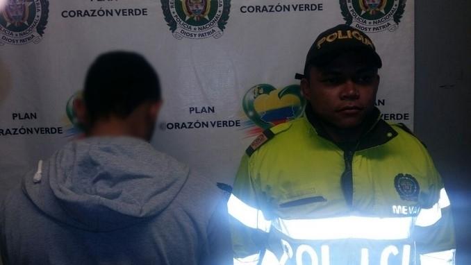 Capturados en San Javier.