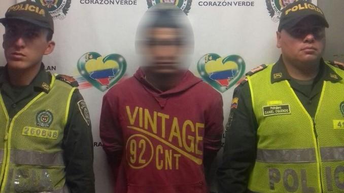 Presuntos 'jíbaros' capturados en San Javier.