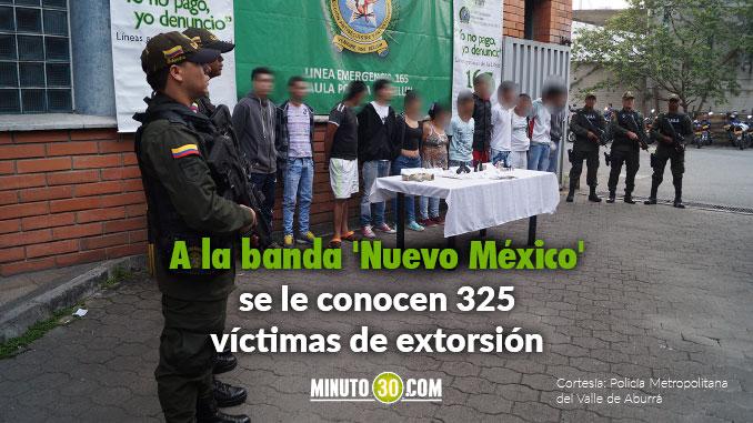 Capturados 21 presuntos integrantes de la banda 'Nuevo México'.