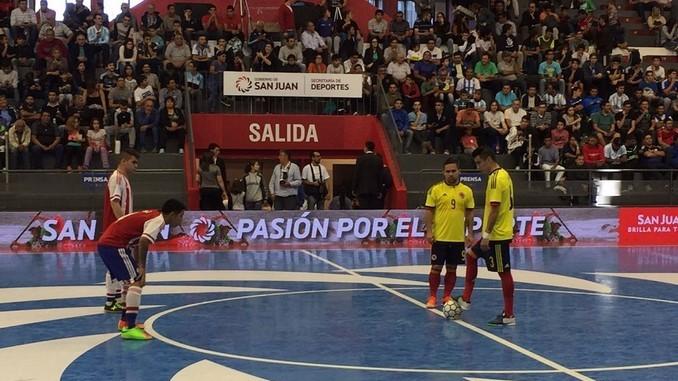 colombia paraguay futsal 2