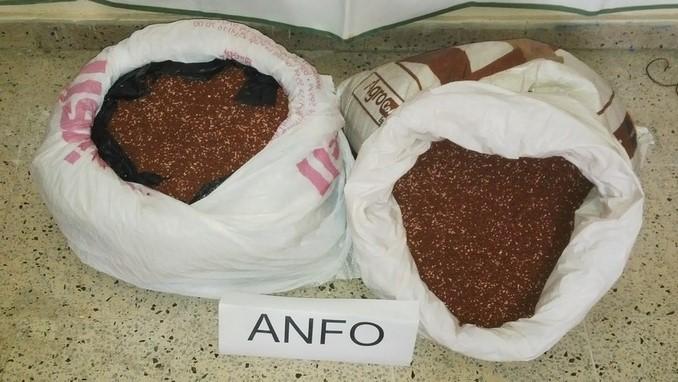 Explosivo tipo Anfo.