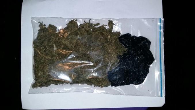 Marihuana incautada en San Javier.