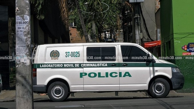 Laboratorio móvil de criminalística