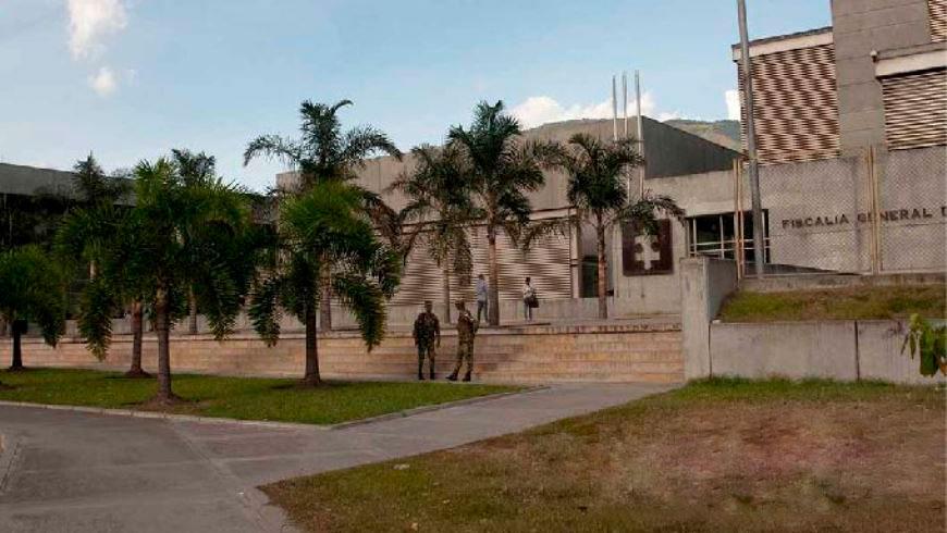 Sede de la Fiscalía en Medellín.