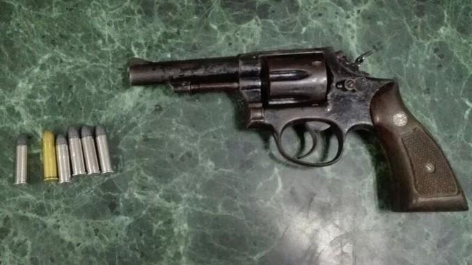 Capturado con un revólver en Itagüí.