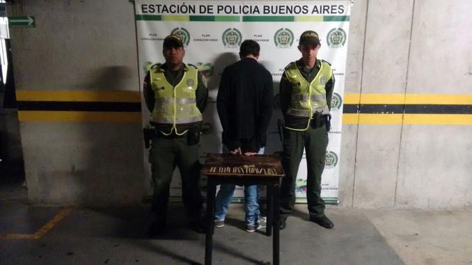 Capturado en Buenos Aires.