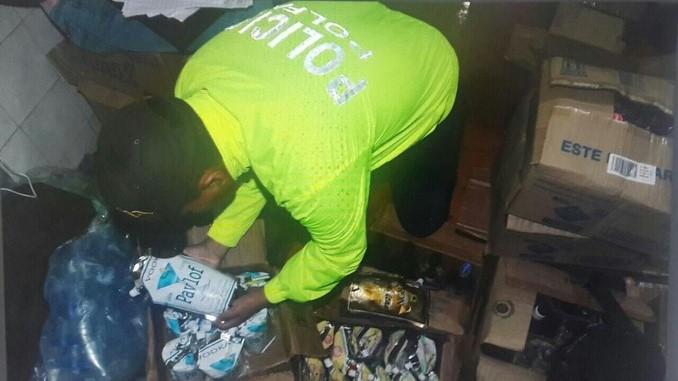 Incautan licor adulterado y de contrabando