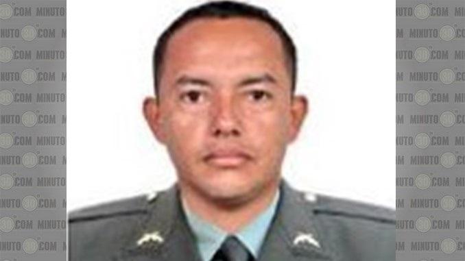 El patrullero Carlos Armando López Gómez murió tras el atentado.