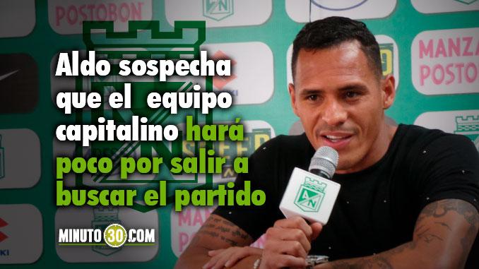 Aldo Ramirez previo Millonarios