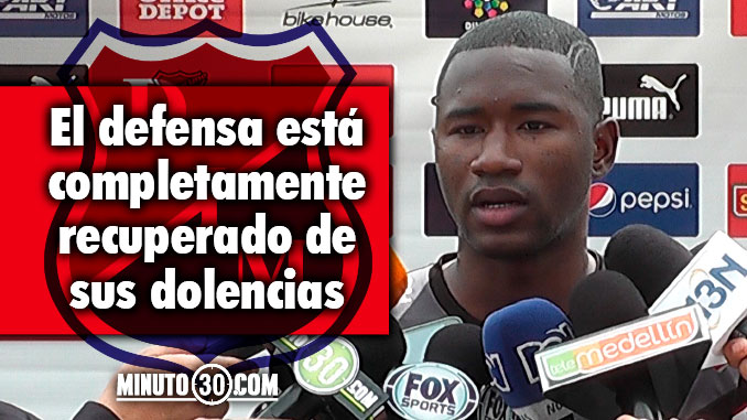 Andres Mosquera recuperado