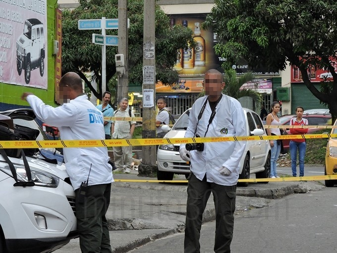 Homicidio en barrio Caribe