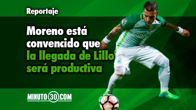 Dayro Moreno sobre Lillo