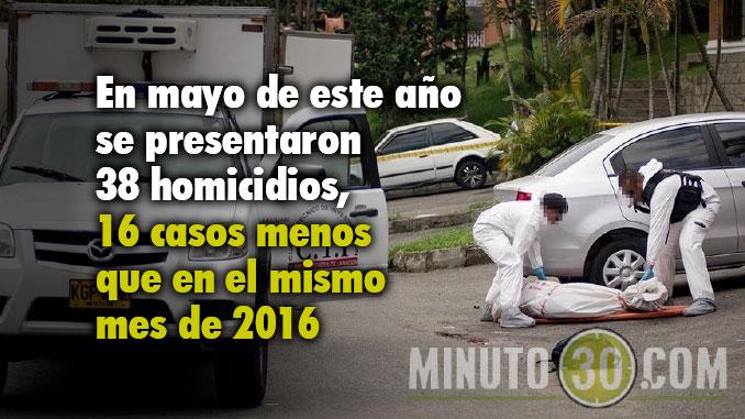 Homicidios reducción Medellín