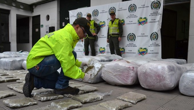 En concentrado para animales, así escondían más de una tonelada de marihuana en Sabaneta