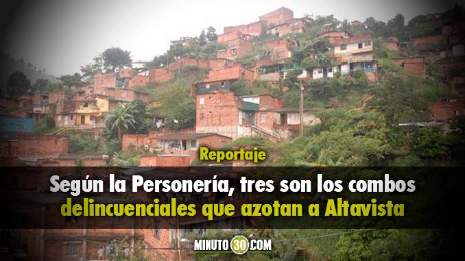 En Altavista también se necesita una inversión social: Personería
