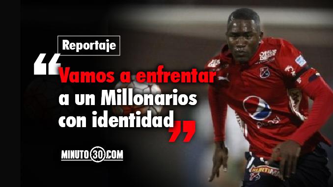 Andres Mosquera previa Millonarios