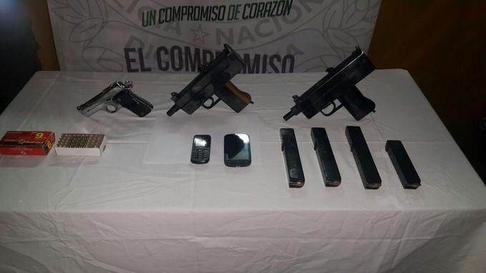Capturados con armas en barrio Aures de Medell%C3%ADn 2 Copiar
