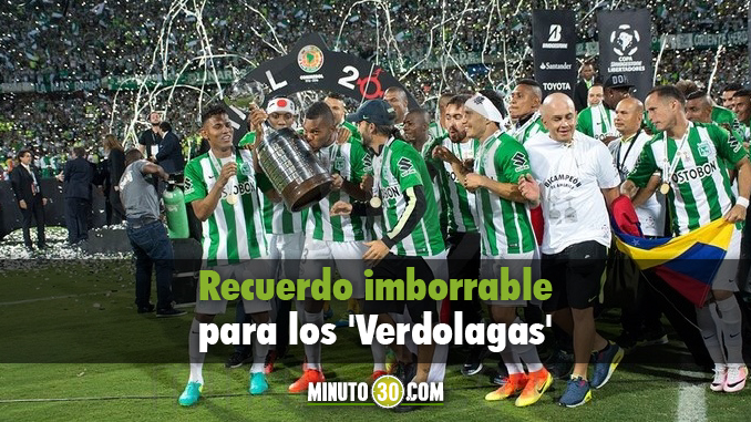 Celebracion Copa Libertadores