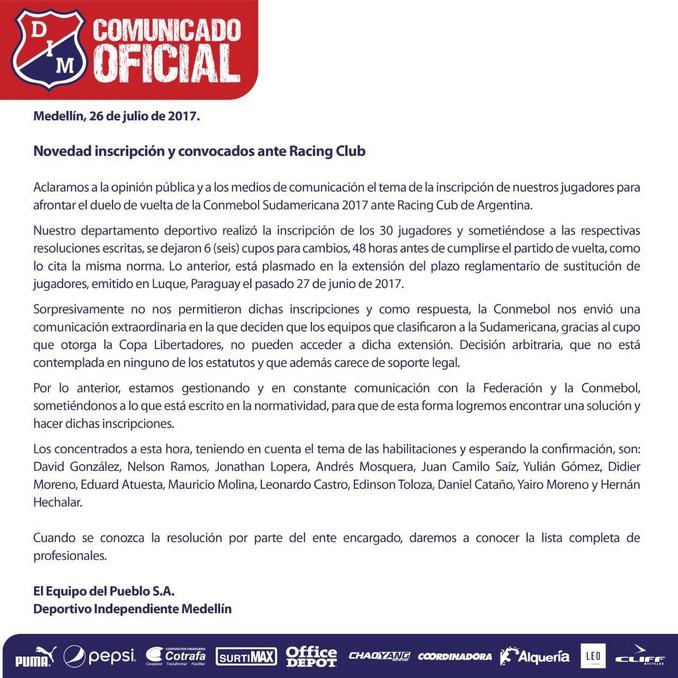 Comunicado Medellin Copiar