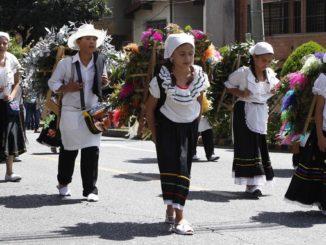 Desfile de Silleteritos 1