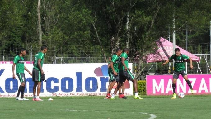 Entrenamiento Atletico Nacional 1