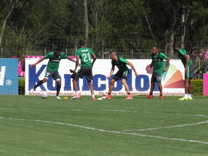 Entrenamiento Atletico Nacional 5