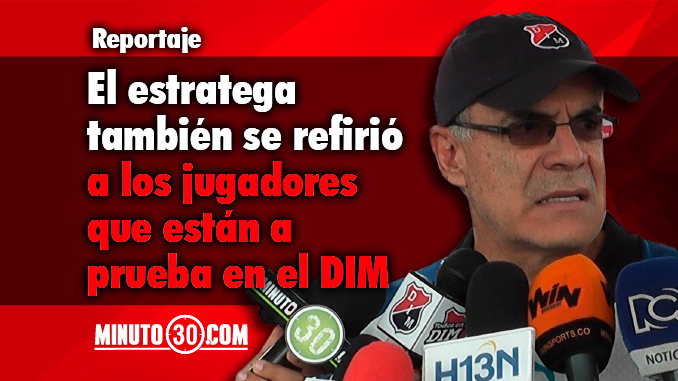 Juan Jose Pelaez espera refuerzos